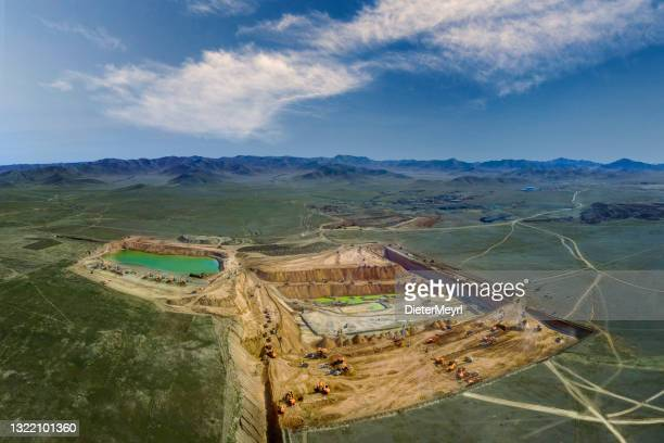 opencut mine - gold mine - archaeology stock pictures, royalty-free photos & images
