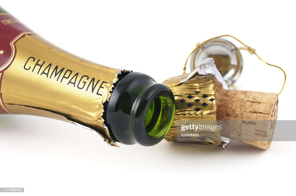 Opened Champagne : Stock Photo