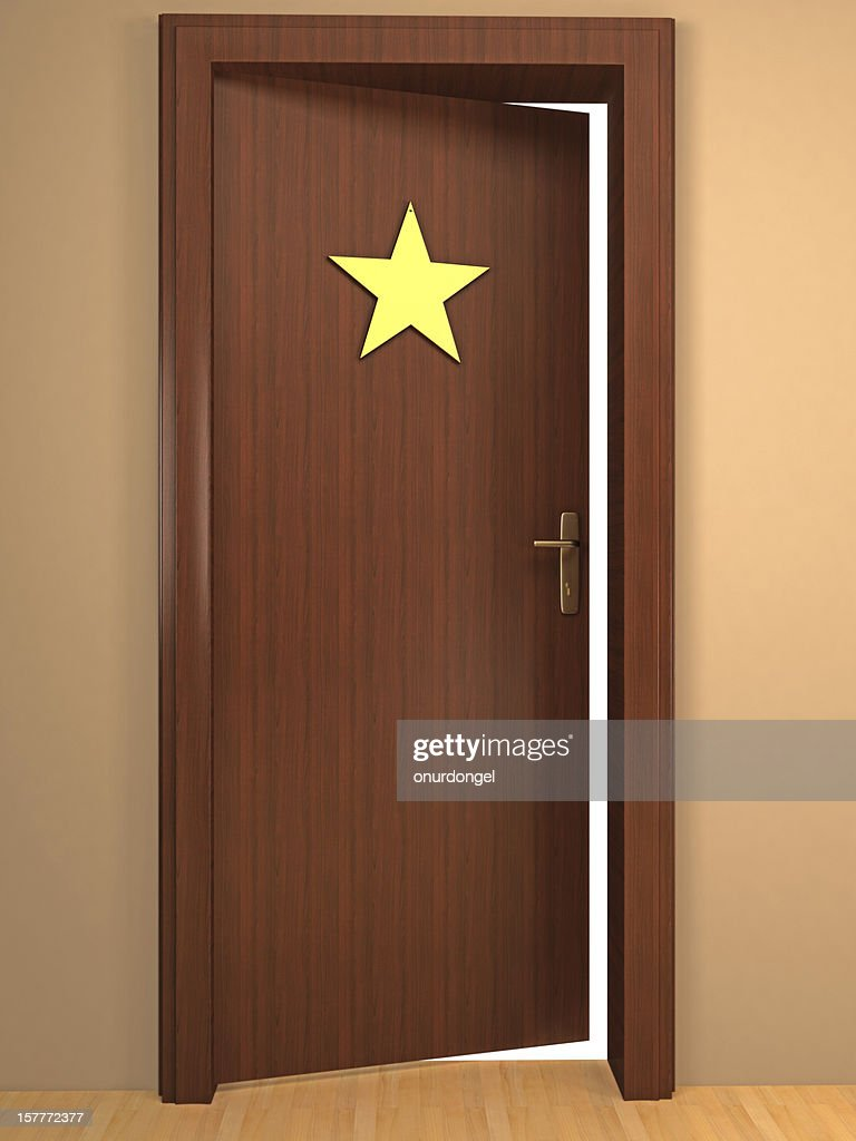 & Opened Door To Become A Star Stock Photo | Getty Images pezcame.com