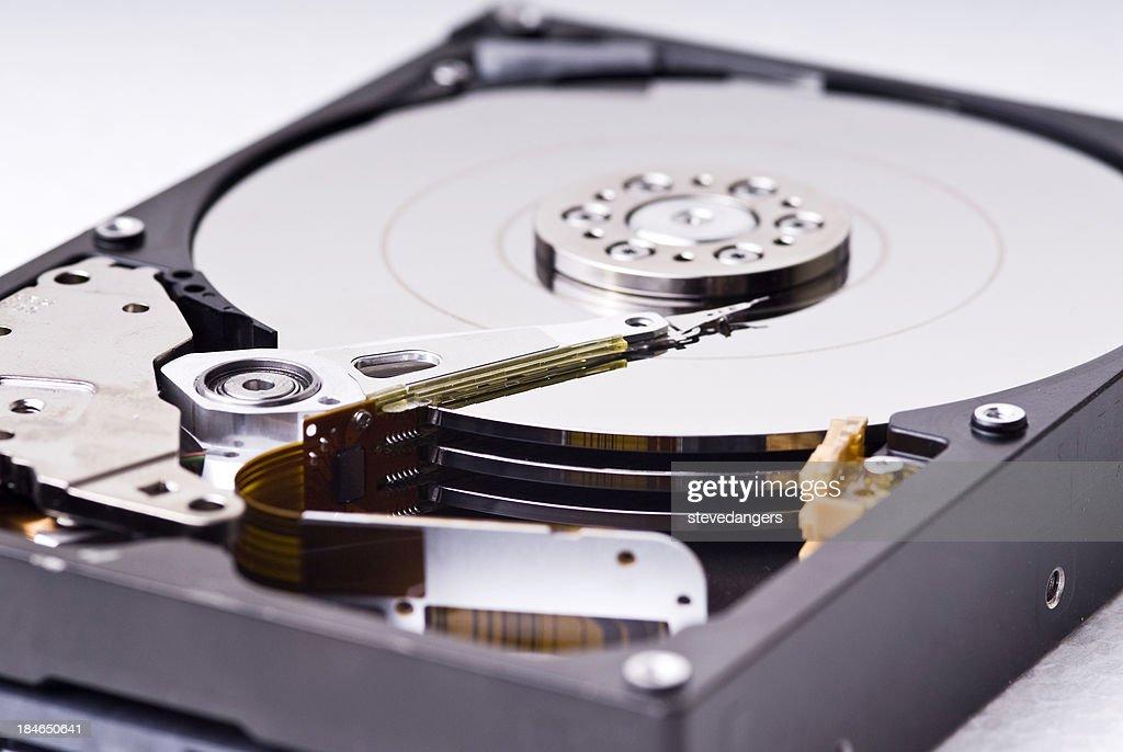 Aperto disco rigido : Foto stock