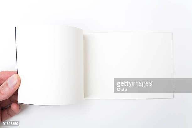 Eröffnete Notebook