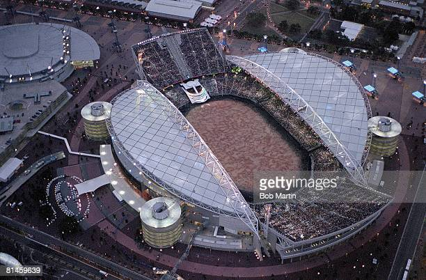 Opening Ceremony 2000 Summer Olympics Aerial scenic view of Olympic Stadium Sydney AUS 9/15/2000