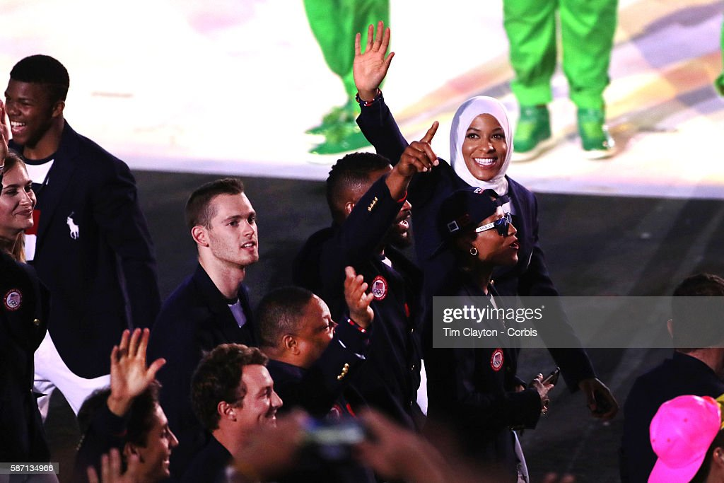 Opening Ceremony 2016 Olympic Games : News Photo