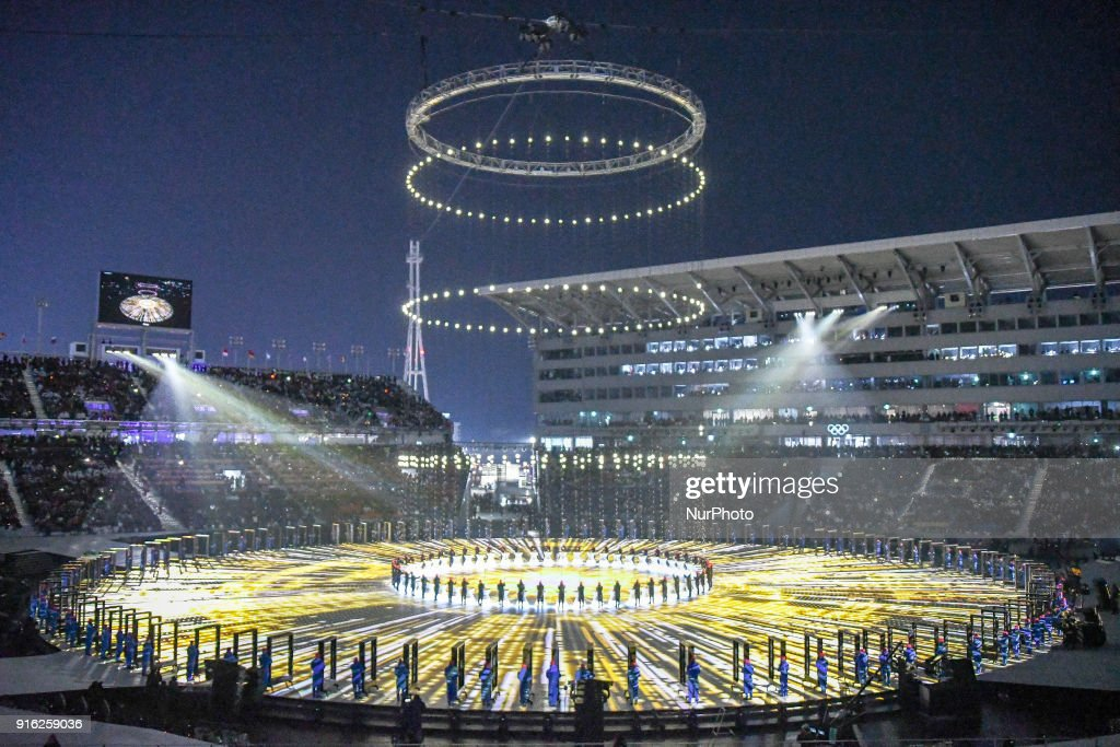 Opening Ceremony Of The 132nd IOC Session - Winter Olympics : Nieuwsfoto's