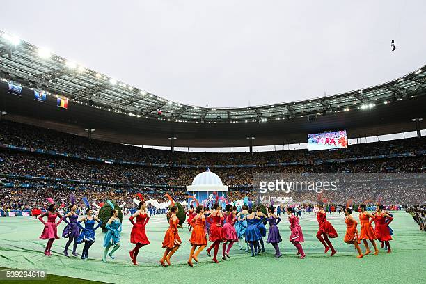 Opening Ceremony during the Euro group stage match between France and Romania at the Stade de France on june 10 2016 in SaintDenis France