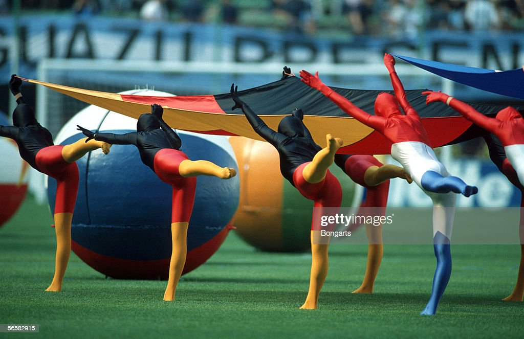 World Cup 1990 Opening Ceremony : News Photo