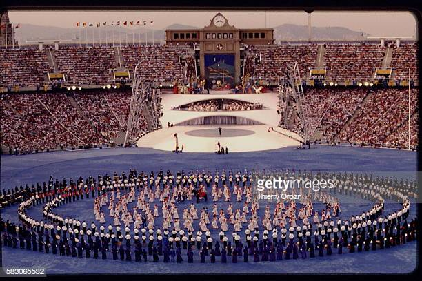 Opening ceremony of 1992 Summer Olympics