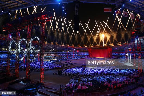 Opening Ceremony of the 2006 Olympic Winter Games in Torino Italy