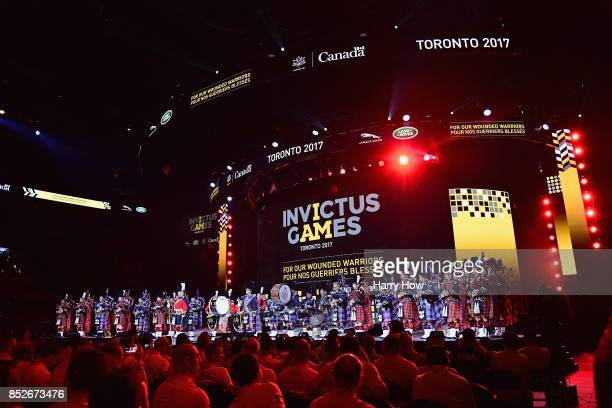 Opening ceremony of the 2017 Invictus Games at Air Canada Centre on September 23 2017 in Toronto CanadaThe Invictus Games is the only international...