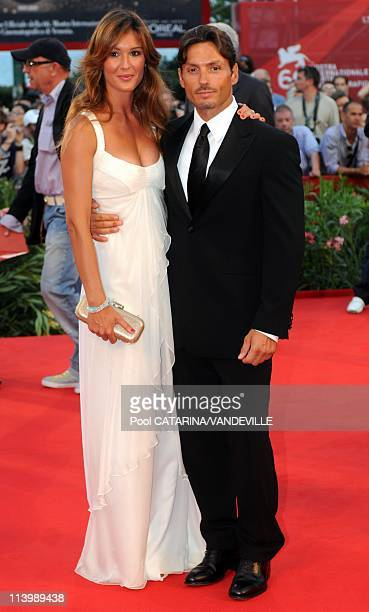 Opening ceremony of the 66th Venice Film Festival in Venice, Italy On September 02, 2009-Silvia Toffanin and Piersilvio Berlusconi at the Opening...