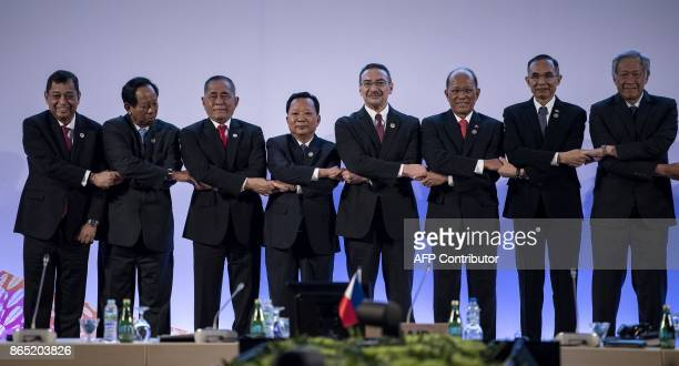 Opening Ceremony of the Association of Southeast Asian Nations Defence Ministers Meeting Bruneis's Minister of Energy and Industry Haji Mohammad...