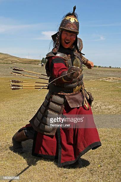 CONTENT] Opening ceremony of the Naadam festival in Kharkorin