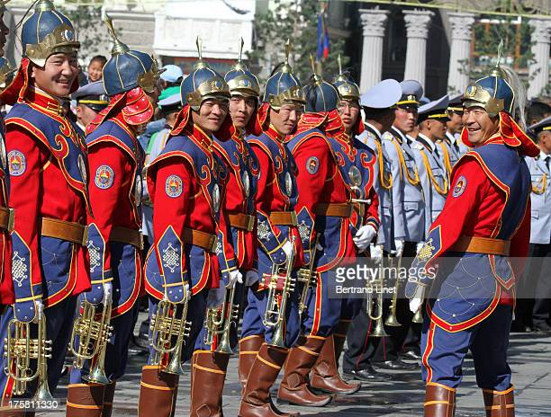 CONTENT] Opening ceremony of the Naadam festival in Ulaanbaatar