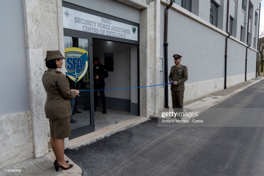 Inauguration Of NATO Excellence Centre For Security Force Assistance : News Photo