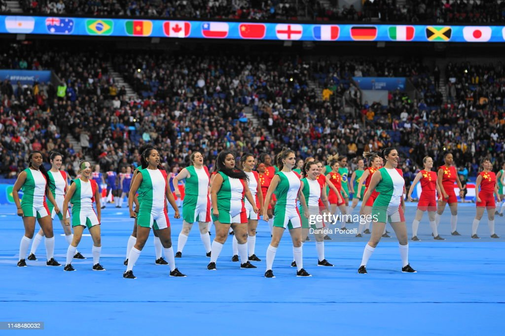 Fifa 2020 World Cup Opening Ceremony.Opening Ceremony Prior To The 2019 Fifa Women S World Cup