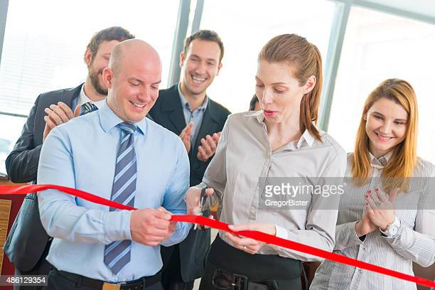 Ribbon Cutting Stock Photos And Pictures