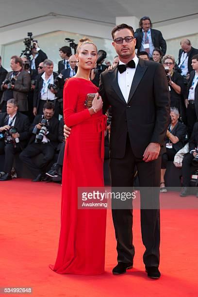 Opening cerimony and 'Birdman' premiere at the 71st Venice Cinema Festival in the photo Natalia Borges and Lorenzo Tonetti