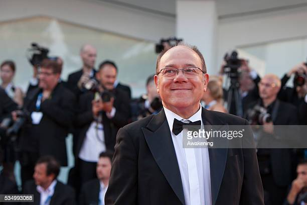 Opening cerimony and 'Birdman' premiere at the 71st Venice Cinema Festival - in the photo: Carlo Verdone