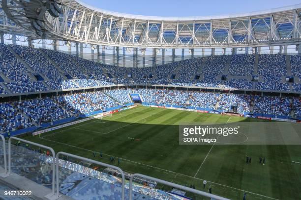 Opening day of the Nizhny Novgorod stadium for FIFA World Cup 2018