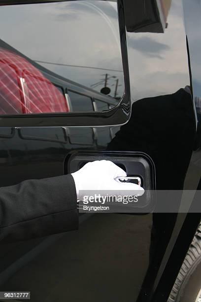 Opening Door with White Glove