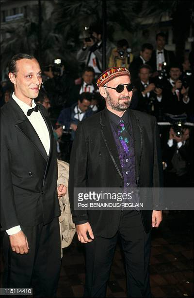 Opening evening of Cannes Film Festival in Cannes, France on May 09, 1991 - Charlelie Couture and his brother Tom Novembre.