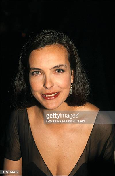 Opening evening of Cannes Film Festival in Cannes, France on May 09, 1991 - Carole Bouquet.