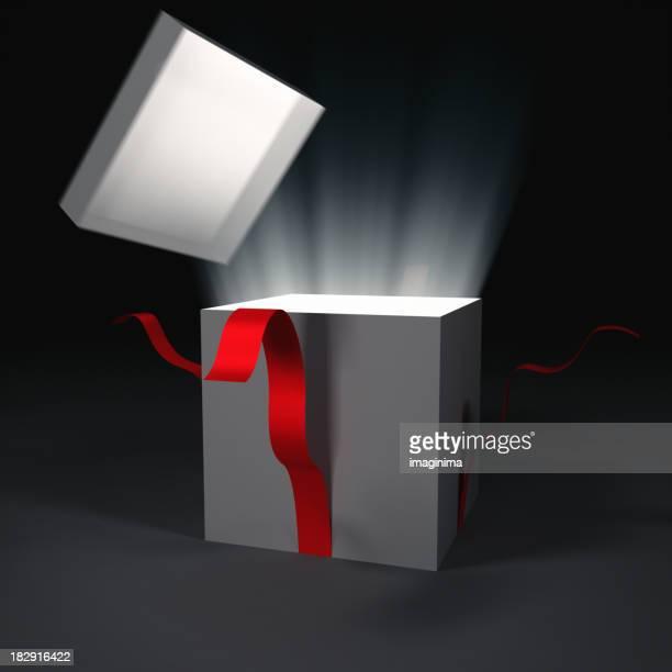 Opening Gift Box