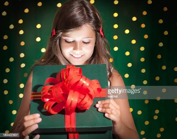 Ouverture des cadeaux.