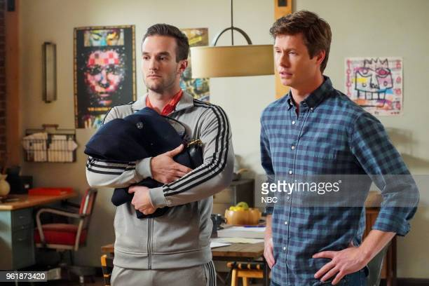 CHAMPIONS 'Opening Night' Episode 109 Pictured Andy Favreau as Matthew Anders Holm as Vince