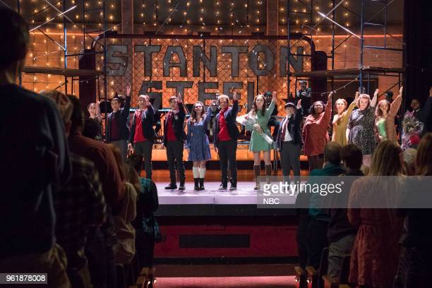 RISE 'Opening Night' Episode 110 Pictured Alexis Molnar as Lexi Nacho Tambunting as Francis Russo Sean Grandillo as Jeremy Ted Sutherland as Simon...