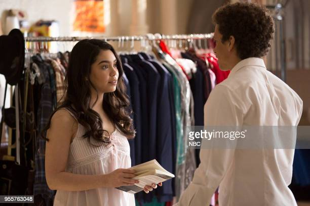 RISE Opening Night Episode 110 Pictured Auli'i Cravalho as Lilette Suarez Damon J Gillespie as Robbie Thorne