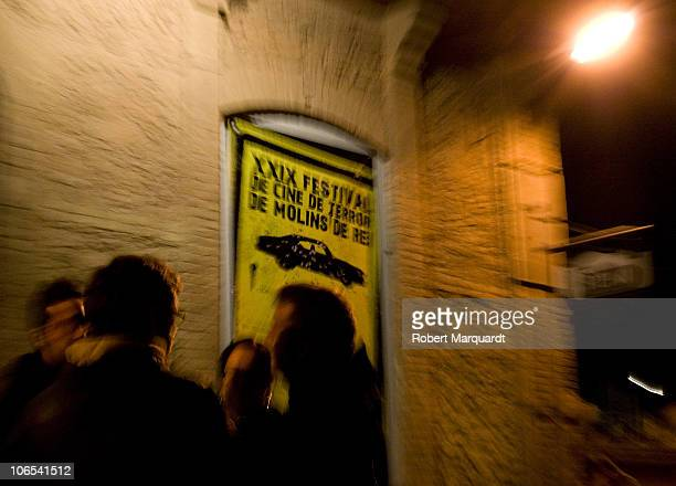 Opening night for the XXIV Horror Film Festival Molins de Rei at the Theater Peni on November 4 2010 in Molins de Rei Spain