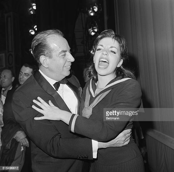 Opening Night. New York: Thrilled with the excitement of opening night on Broadway, singer-actress Liza Minnelli shares the happy moment with her...