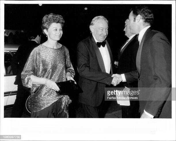 Opening night of the Film Festival at the State Theater in the city June 7 1985