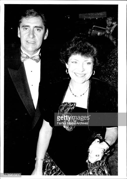 Opening night phanton of the opera Royal theater Sydney Marina prior Debra Hutton and Harry M. Miller John Collin and wife premier of NSW Mr. Fahey...