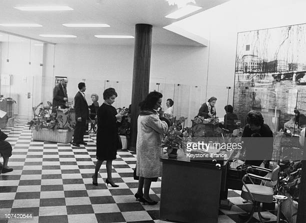 Opening Of A New Social Security Center In Paris On October 20Th 1964