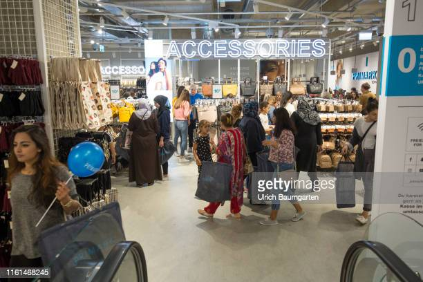 Opening of a Primark branch in Bonn Interior view of a sales room with visitors