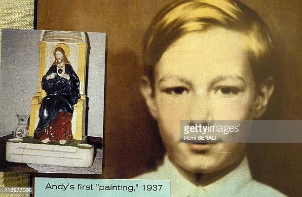 Opening of Andy Warhol Museum In Pittsburgh United States On May 13 1994Andy Warhol's first painting 1937