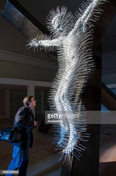 Opening of art exhibition Precious Light by David Mach at the great halls of the Promoter of Fine Arts in Turin The exhibition will be from April 24...
