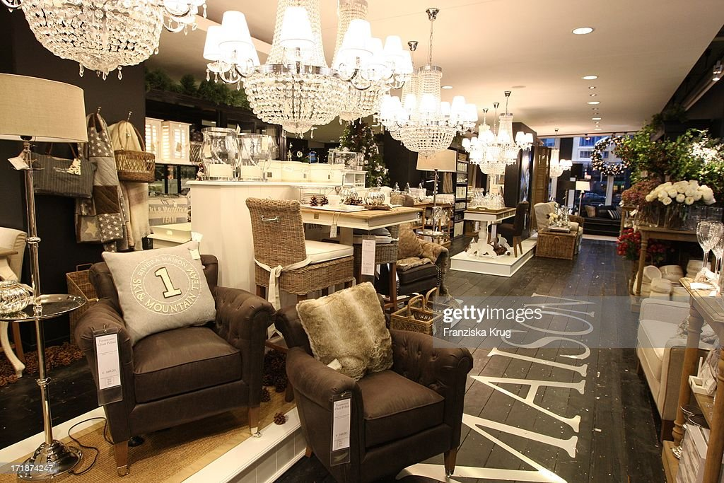 opening of flagship store from 39 riviera maison 39 in hamburg nachrichtenfoto getty images. Black Bedroom Furniture Sets. Home Design Ideas