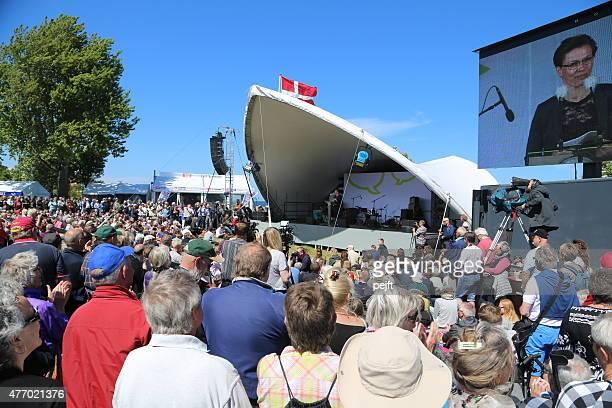 Opening of Folkemødet on Bornholm