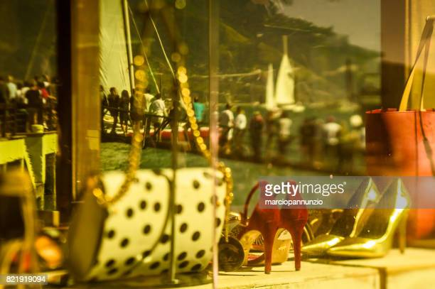 opening of ilhabela sailing week when the parade of sailboats happens in front of the píer da vila in ilhabela, brazil - píer stock pictures, royalty-free photos & images