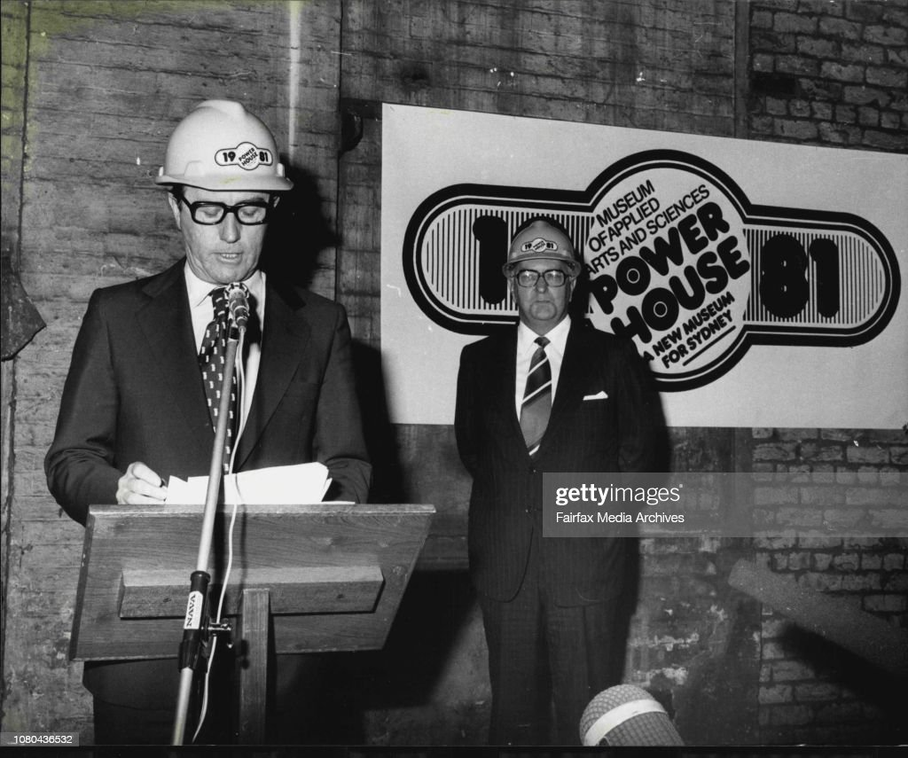 Opening Of New Museum Of Applied Arts And Sciences At The Old Power News Photo Getty Images