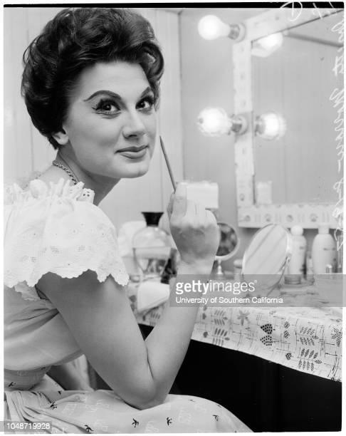Opening of play 'Fanny' , 19 August 1957. Deon Robb;Gene Kelton;Italo Tajo;Edwin Lester;Francesca Bellini;Roy Fitzell;Doretta Morrow;Jack...