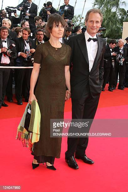 Opening of the 60th Cannes International Film Festival France On May 16 2007 Hyppolite Girardot and his wife