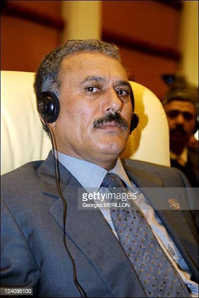 Opening of the 9th Islamic conference In Doha Qatar On November 12 2000 President of Yemen Ali Abdullah Saleh