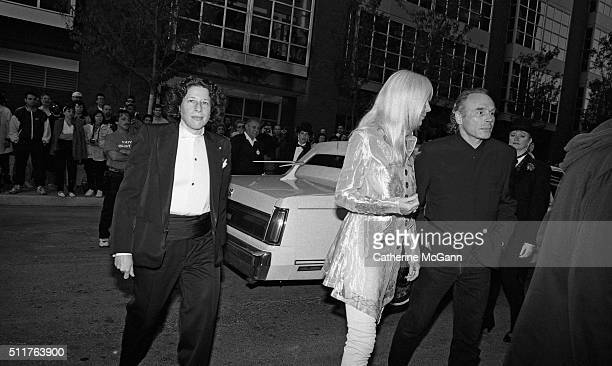 Opening of the Andy Warhol Museum in May 1994 in Pittsburgh PA Pictured Fran Lebowitz Brice Marden far right