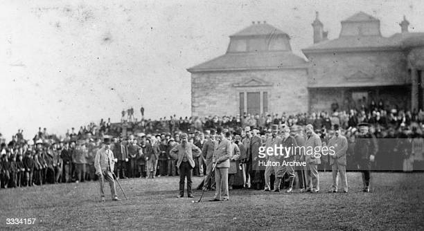 Opening of the golf season at St Andrews Scotland The Royal and Ancient Golf Club at St Andrews was founded in 1754 and recognised as the Governing...