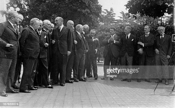 Opening of the Lausanne Conference of reparations between Germany and the victorious powers of World War II The chief delegates James Ramsay...