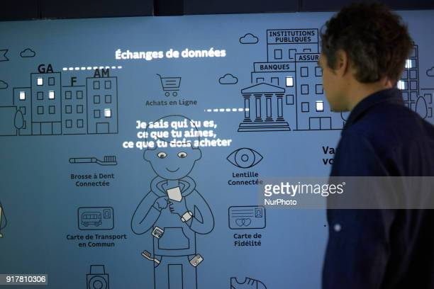 Opening of the new exhibition at the 'Quai des Savoirs' Museum of Toulouse' on '#HumainDemain' It's centered on technology connected body or objects...
